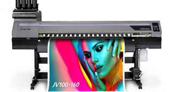 Mimaki 100 Serisi başarısını eko solvent JV100-160 ile devam ettiriyor image