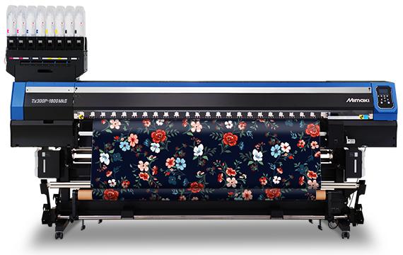 Mimaki Tx300P-1800 MkII hibrit tekstil baskı makinesi