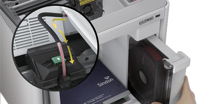 3DFF-222 Otomatik filament besleme