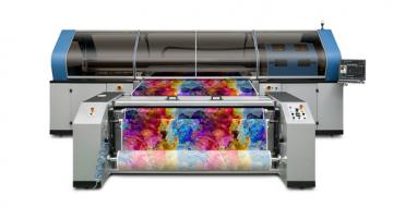 Gelişmiş Mimaki Tiger-1800B MkIII endüstriyel tekstil baskısını kolaylaşt image
